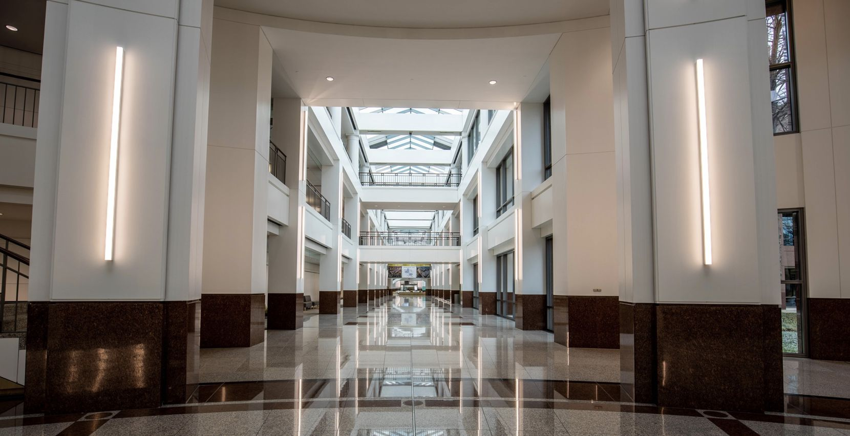 A large part of the former Penney headquarters space has already been remodeled.
