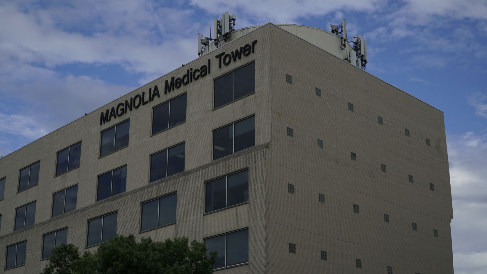 Magnolia Medical Tower in Fort Worth, Texas on Wednesday July 29, 2020.