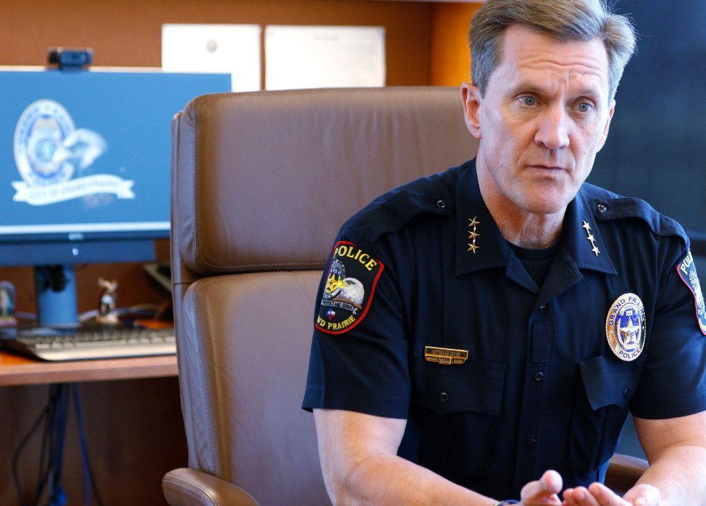 Grand Prairie Police Chief Steve Dye