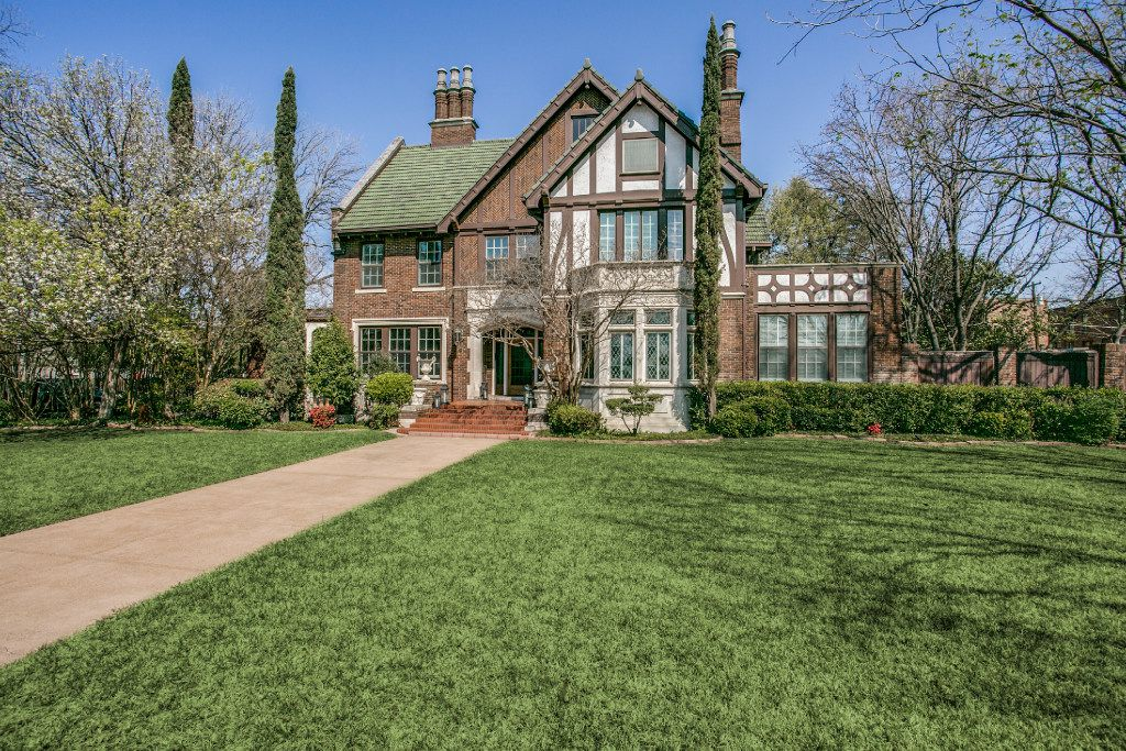A stately Tudor featured on the Swiss Avenue Mother's Day Home Tour harkens to the early days of Dallas  premier neighborhood.