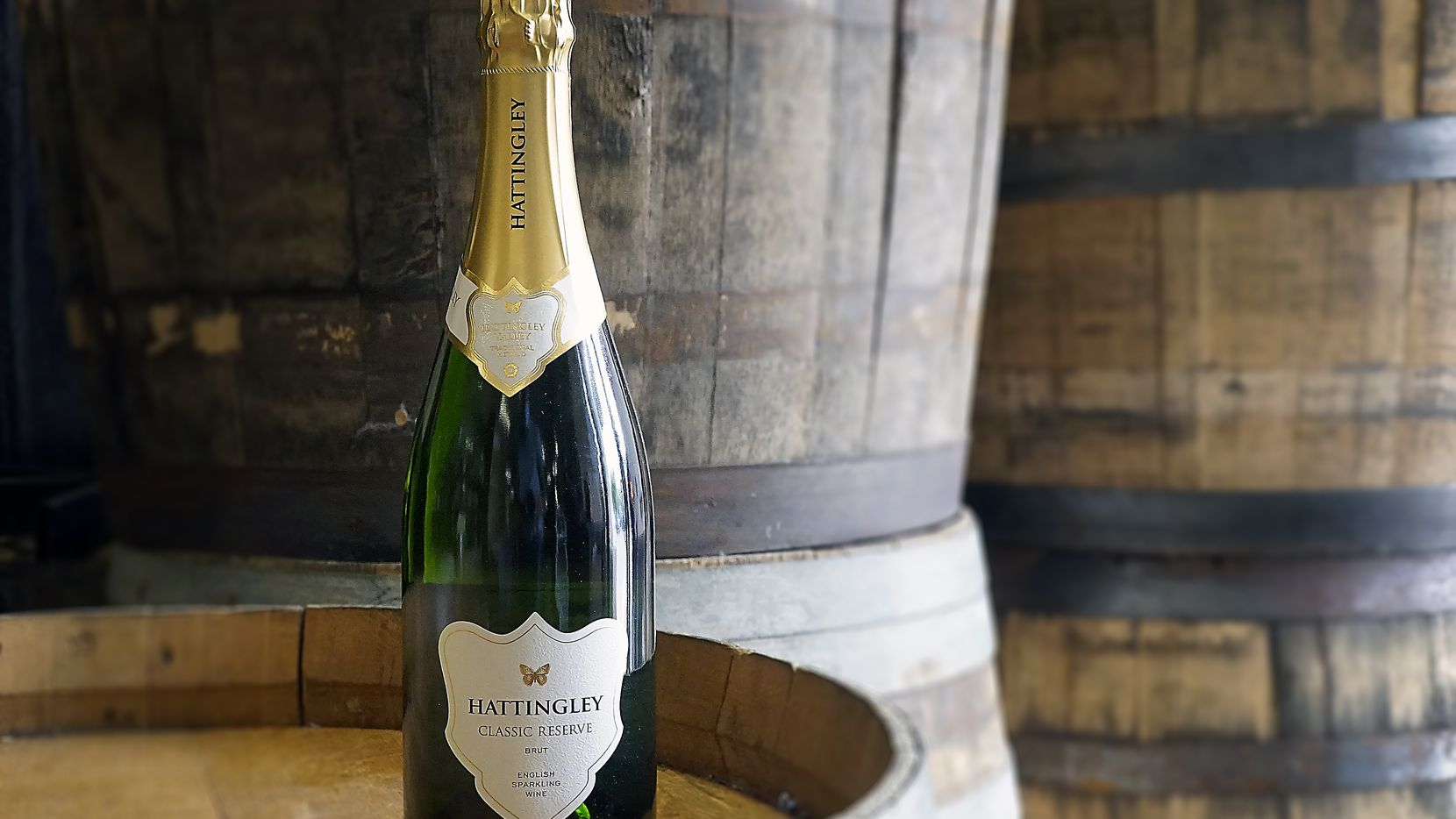 Hattingley Classic Reserve is one of the British sparkling wines carried at Pogo's Wine & Spirits on Lovers Lane.