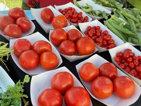 A year-round farmers market organized by Glade Parks Town Center has begun operating in Euless.
