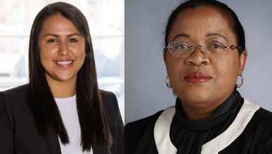 Karla Garcia, left, and Camile D. White, right, will likely be in a runoff for the Dallas ISD District 4 seat.