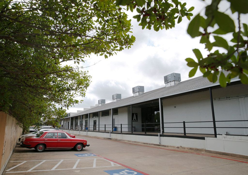 The Tyler Station development has turned an old warehouse on Polk Street south of the Tyler/Vernon DART station in Oak Cliff into a mixed-use space with a co-working element.