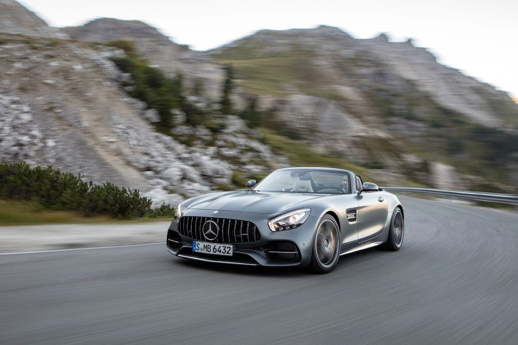 The 2018 Mercedes-AMG GT Roadster will reach 60 mph in 3.7 seconds.