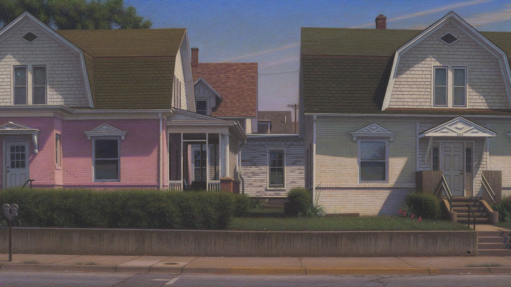 """Brian Cobble, """"Prairie Town, 2020,"""" part of the new show at Valley House Gallery & Sculpture Garden."""