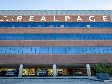 RealPage's headquarters in Richardson are shown on Monday.