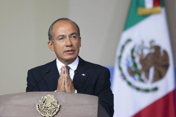 El expresidente de México,Felipe Calderon, fue hospitalizado en la Ciudad de México.