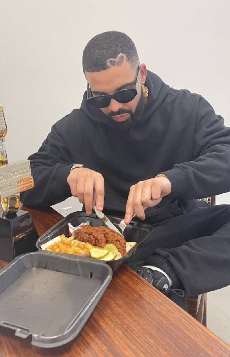Drake is a new investor in Dave's Hot Chicken.