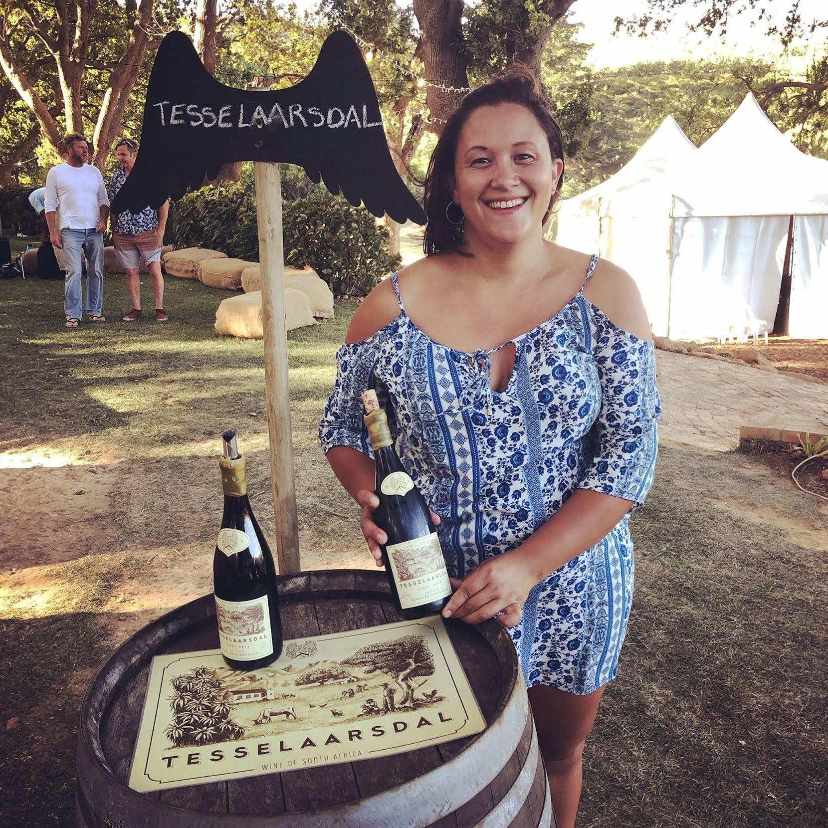 Berene Sauls is owner of Tesselaarsdal wines in South Africa.