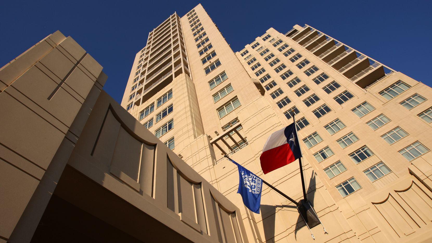 Opened in 2007, Dallas' Ritz-Carlton is Texas' top hotel.