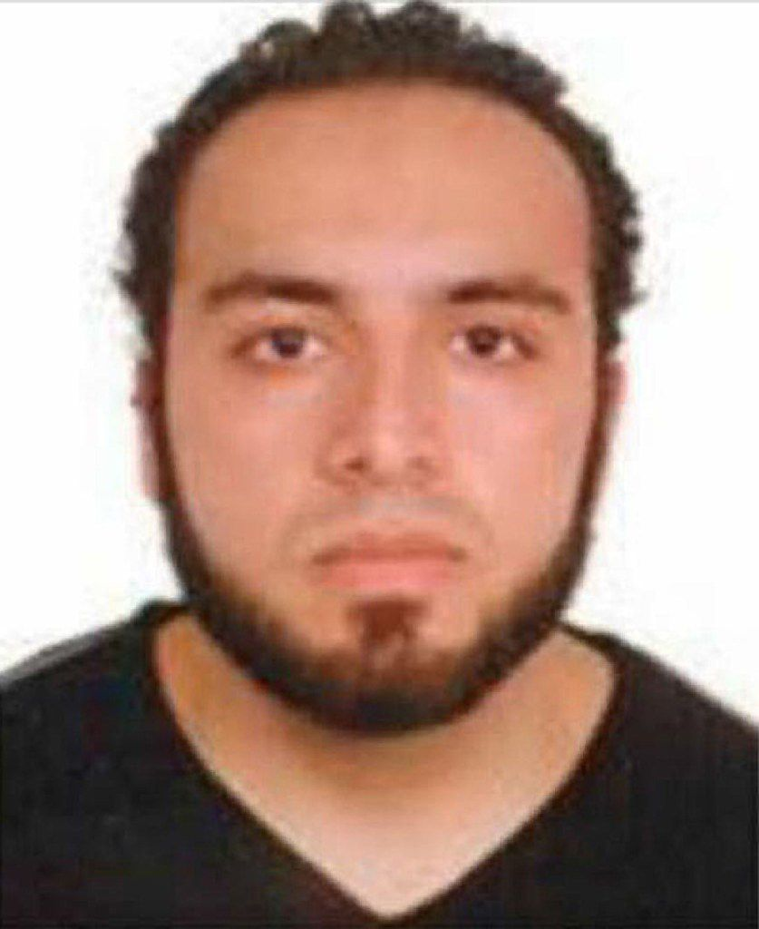Ahmad Khan Rahami was charged in the series of explosions along the East Coast.  (Agence France-Presse)