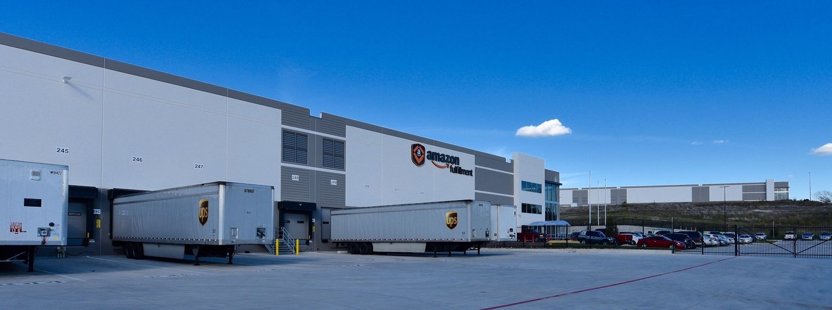 Amazon is the biggest warehouse tenant in North Texas.