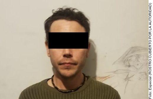 Mauricio Santoy fue encontrado junto a otros seis hombres con 3 kilos con 200 gramos de marihuana y 14 gramos de crystal.