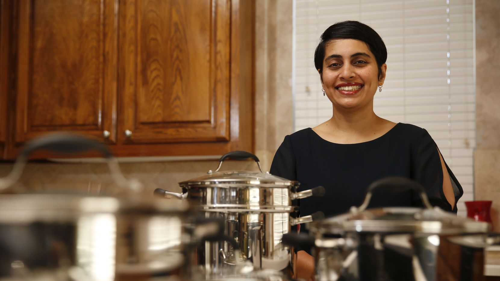 Asha Kangralkar, cofounder and CEO of Avacraft, operates her growing company from her Plano home.