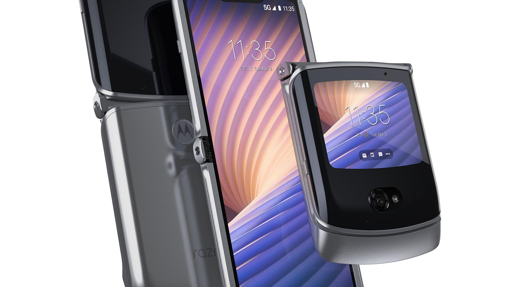 The Motorola Razr 5G