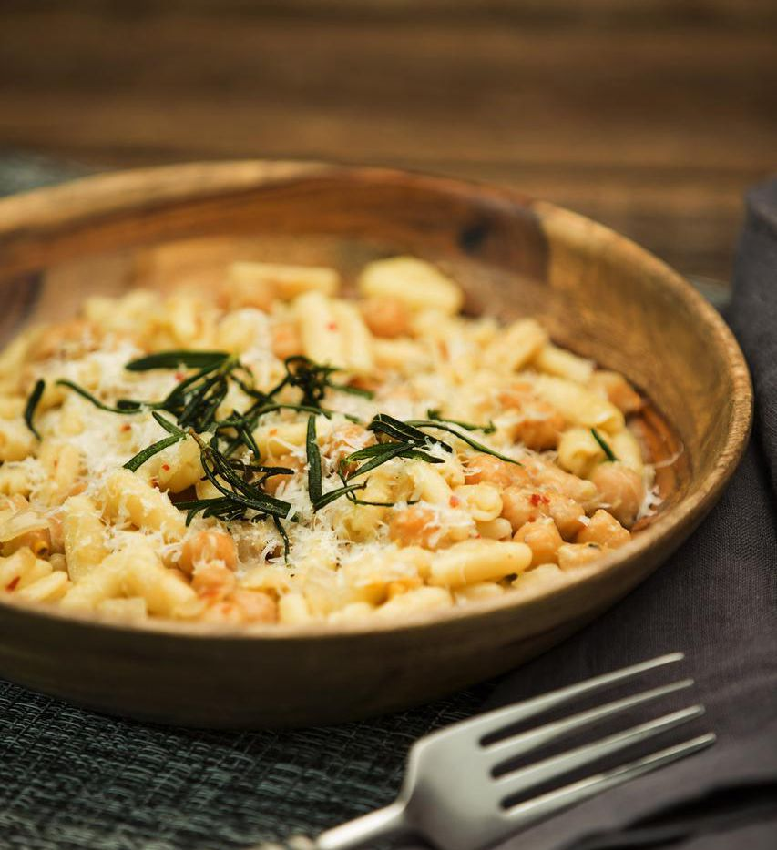 Pasta With Chickpeas is adapted from a recipe from David Uygur, chef-owner of Lucia.