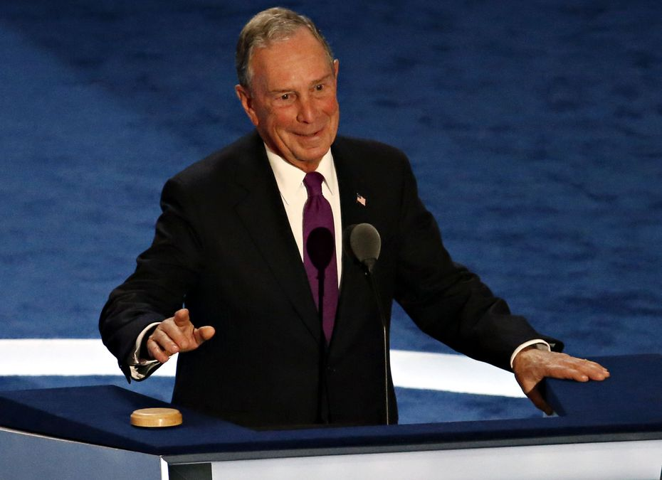 Former New York City Mayor Michael Bloomberg endorsed Hillary Clinton on Wednesday and said the country should elect a 'sane,competent person.'