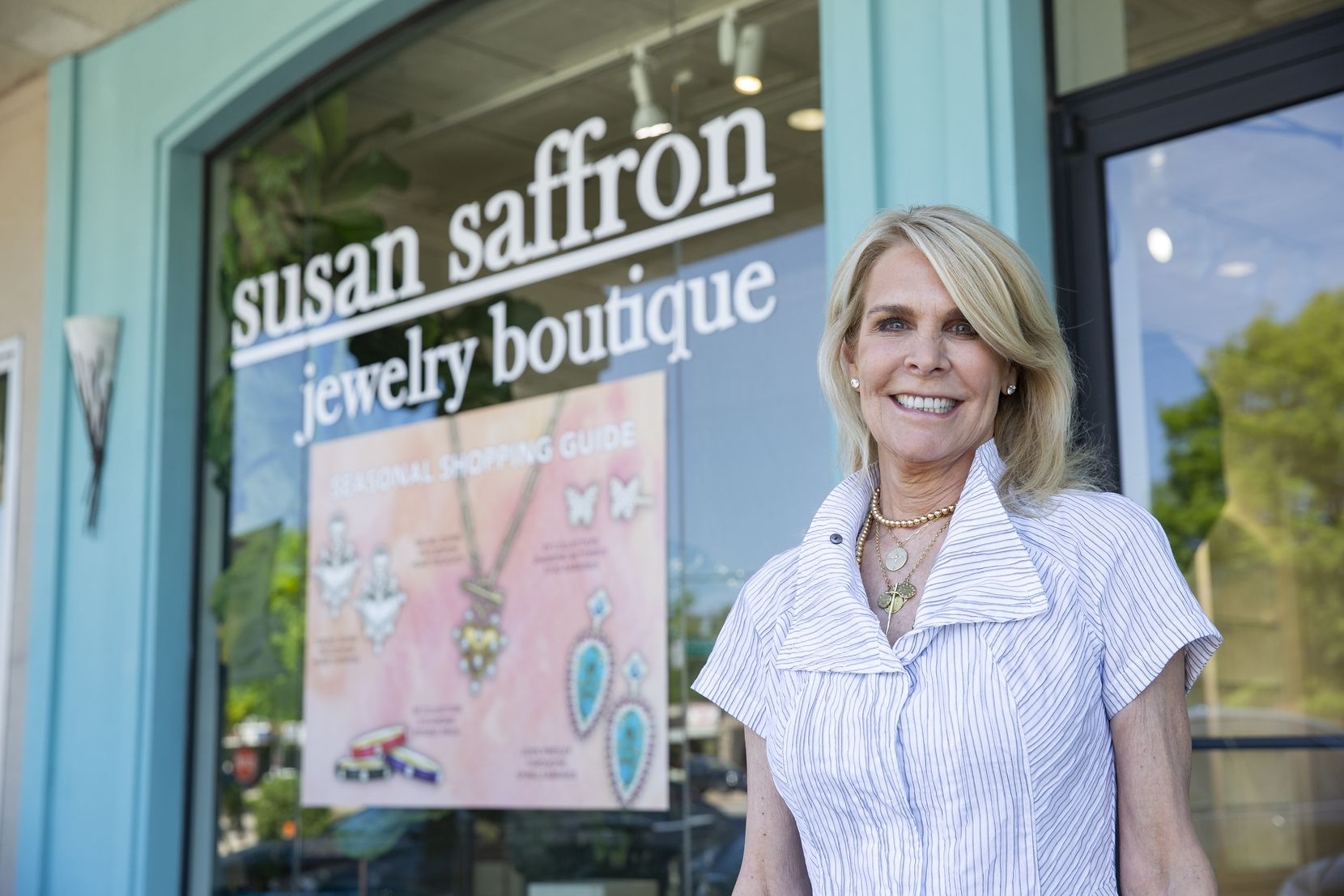 Susan Saffron is ready to open her business in Inwood Village.