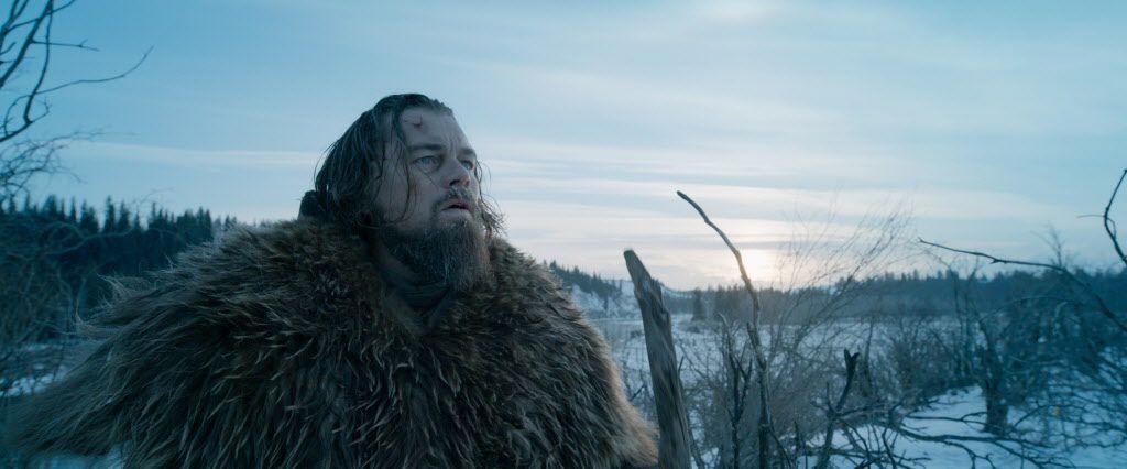 "Leonardo DiCaprio as Hugh Glass in a scene from the film ""The Revenant."""