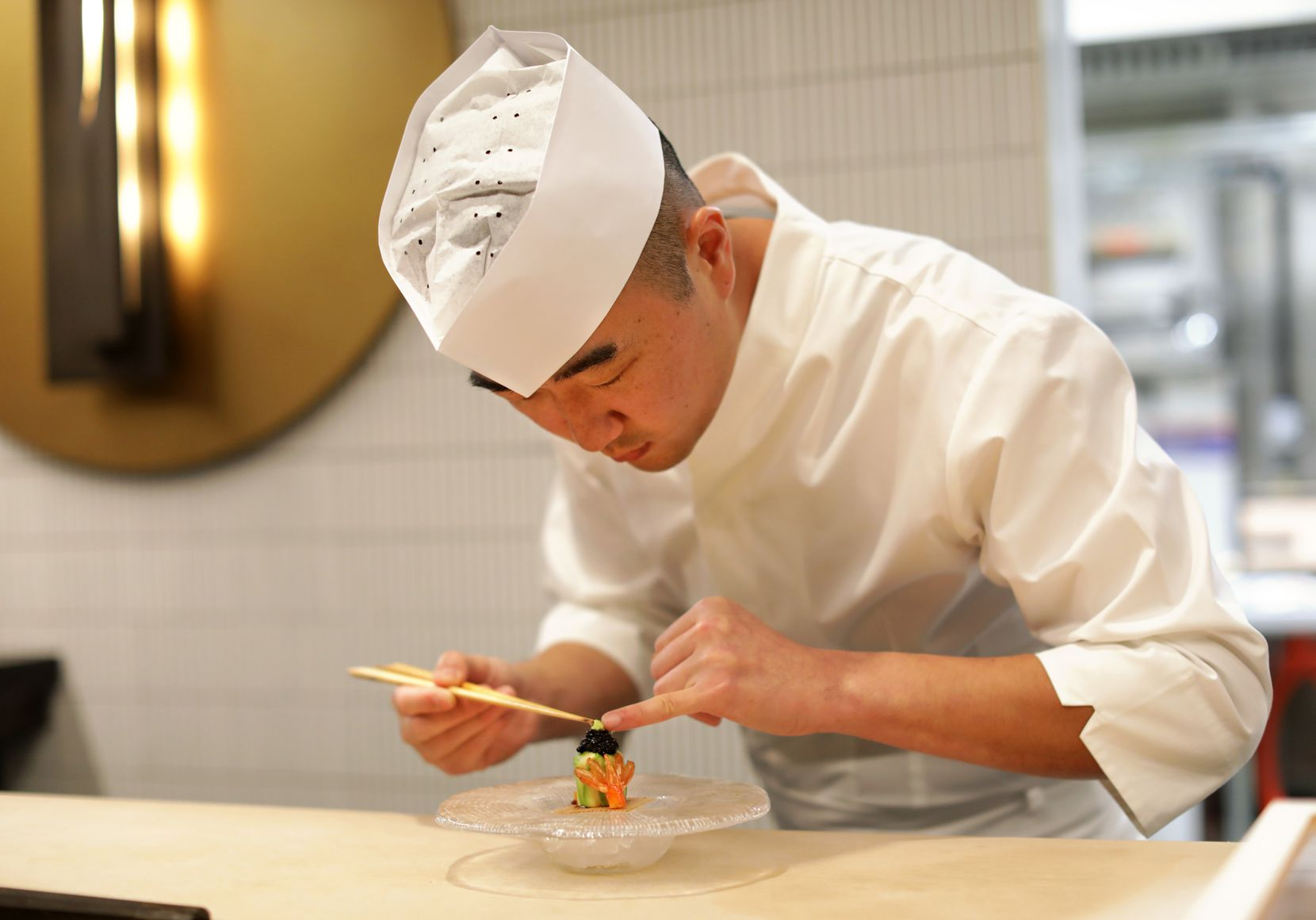 Founder and chef Jimmy Park created the 12-seat restaurant Shoyo.