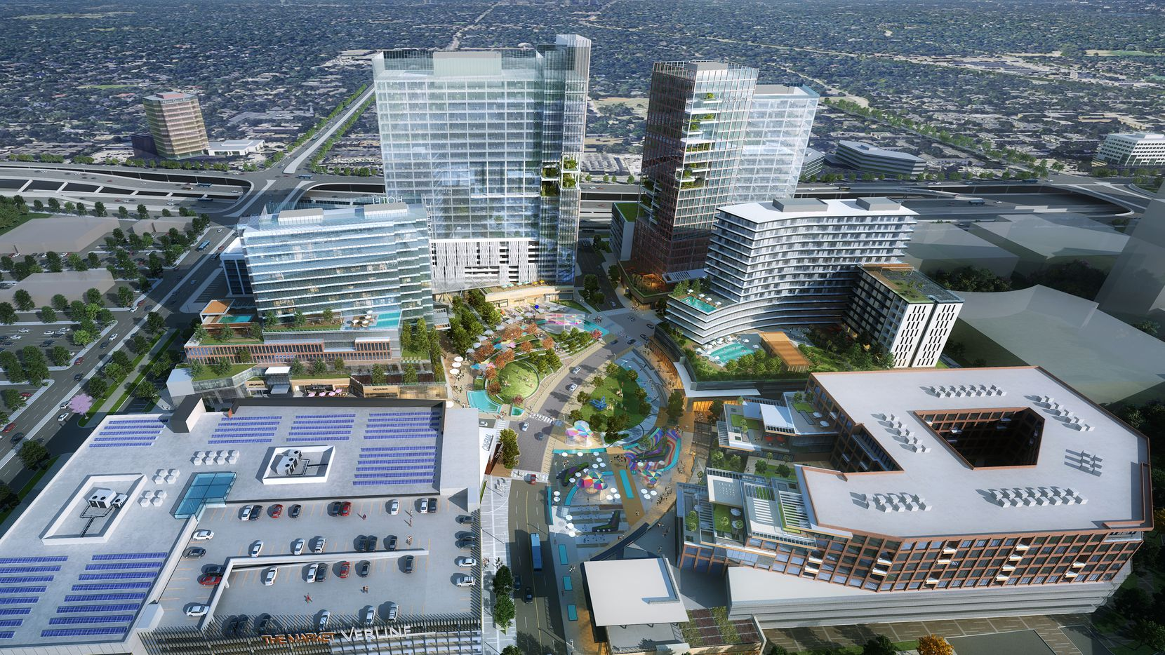 The $1 billion Park Heritage development will be built along LBJ Freeway on part of the old Valley View Mall property.