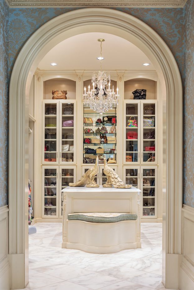 A look at the closet at 1201 Gray Branch Road in McKinney.