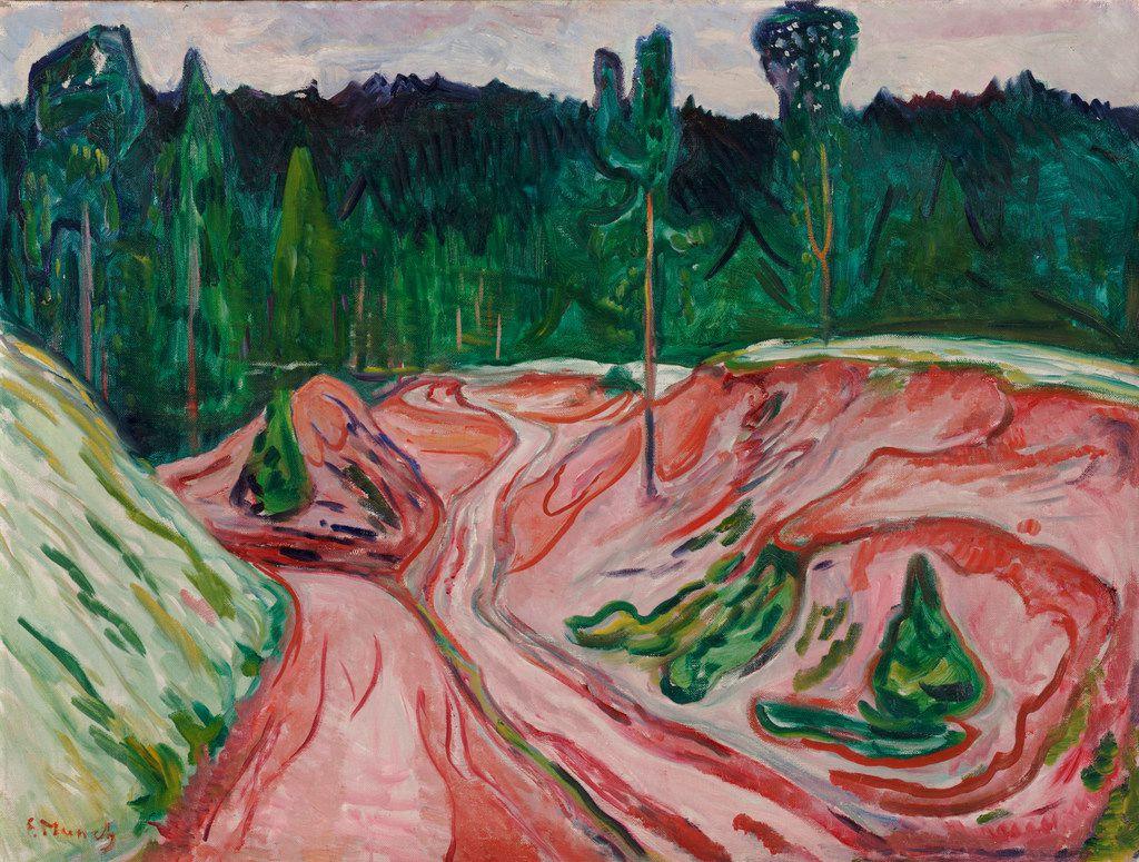 Edvard Munch, Thuringian Forest, 1904.