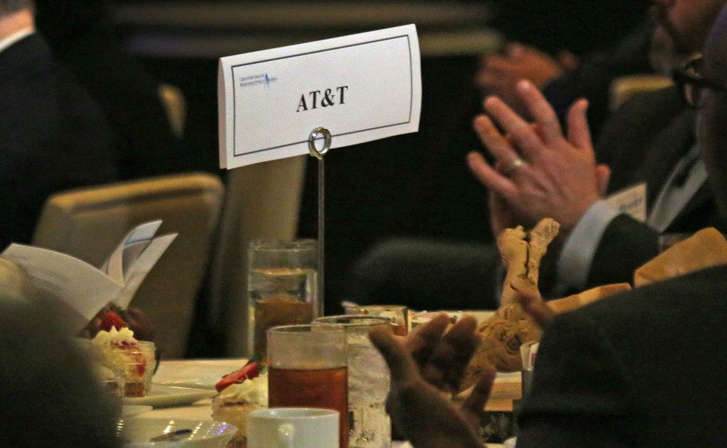 Despite a litany of consumer complaints against AT&T over the years, the company won a North Texas ethics award this week. But the glow didn't last long. Three hours after the banquet, the company was embarrassed when its role in paying President Trump's lawyer was revealed.