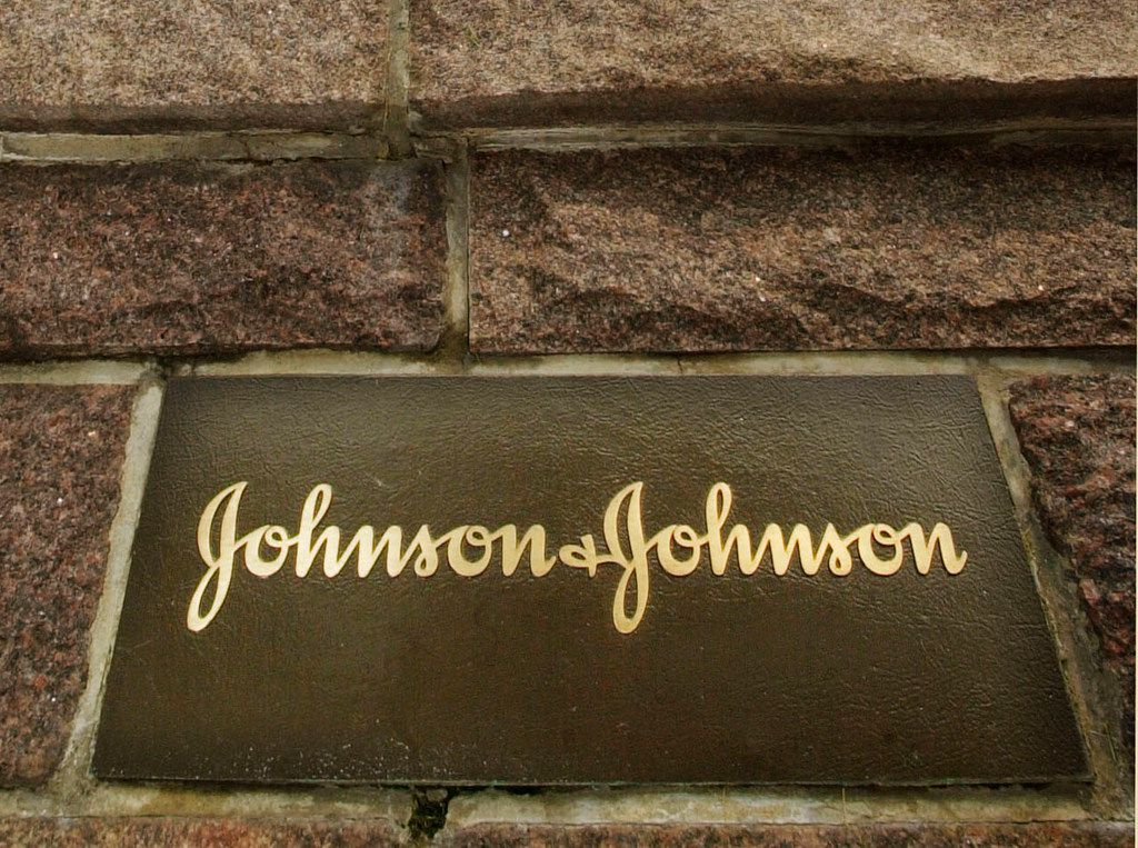 This file photo shows the Johnson & Johnson corporate headquarters in New Brunswick, N.J.