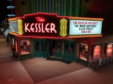 The Kessler Theater in Oak Cliff is one of many venues across America hit hard by fallout from the coronavirus.