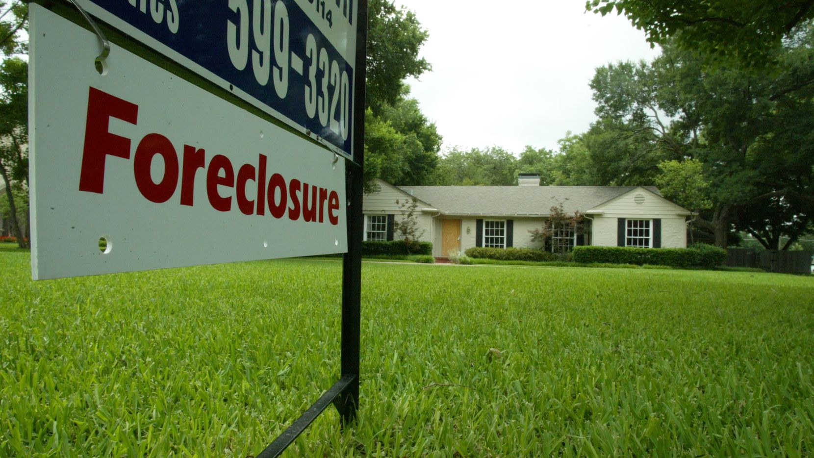 Home foreclosure filings in the D-FW area are running half the national rate.