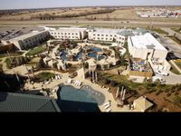 A view from one of the suites at Choctaw Casino Resort in Durant, Oklahoma.