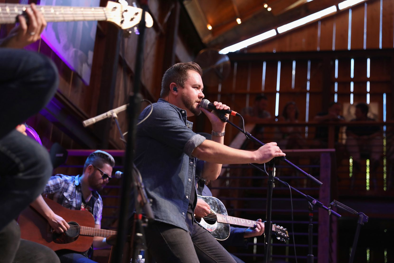 Mike Eli of the Eli Young Band performs onstage at the HGTV Lodge during CMA Music Fest on June 9, 2017 in Nashville.