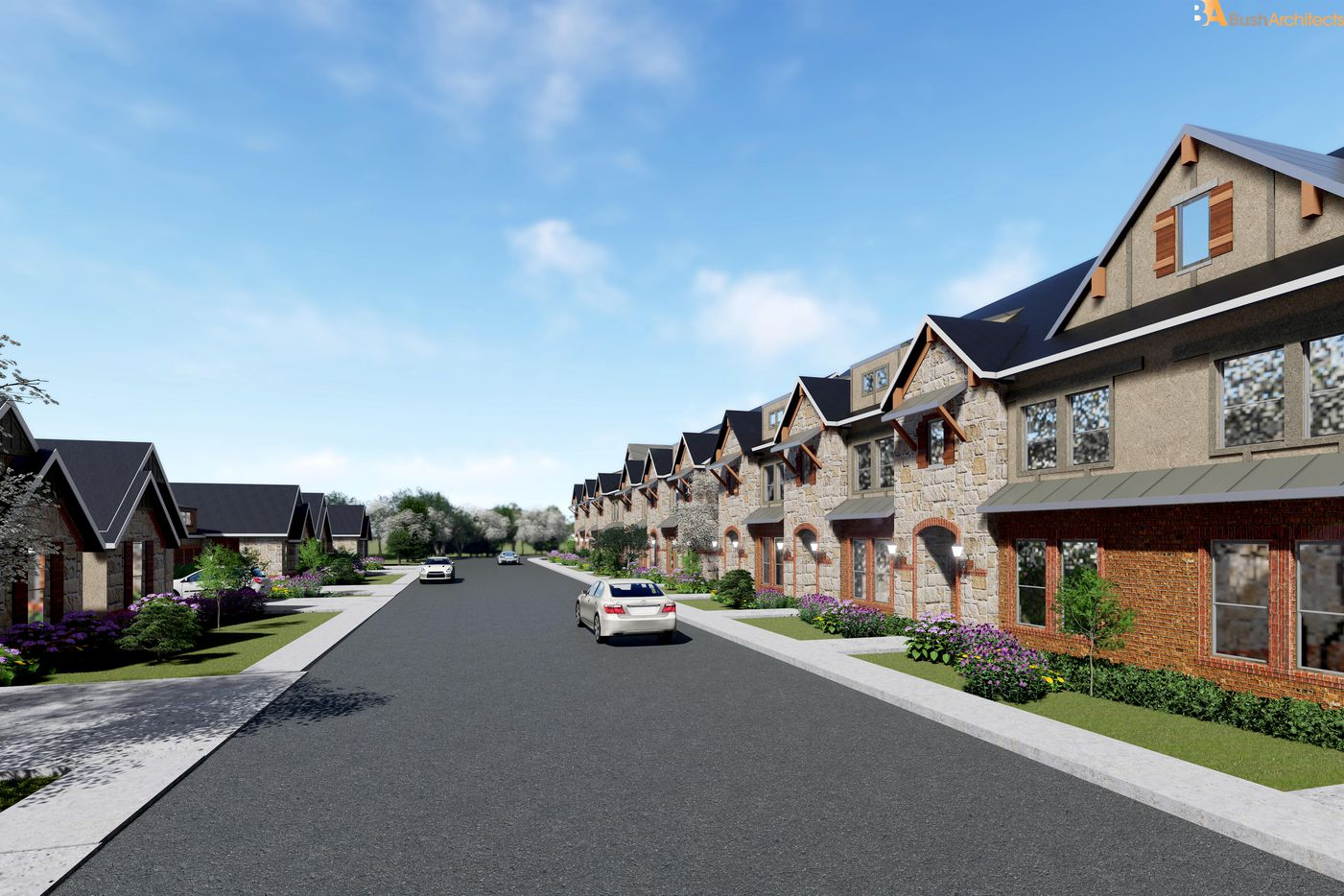 The planned Iron Horse Village will have more than 300 homes.