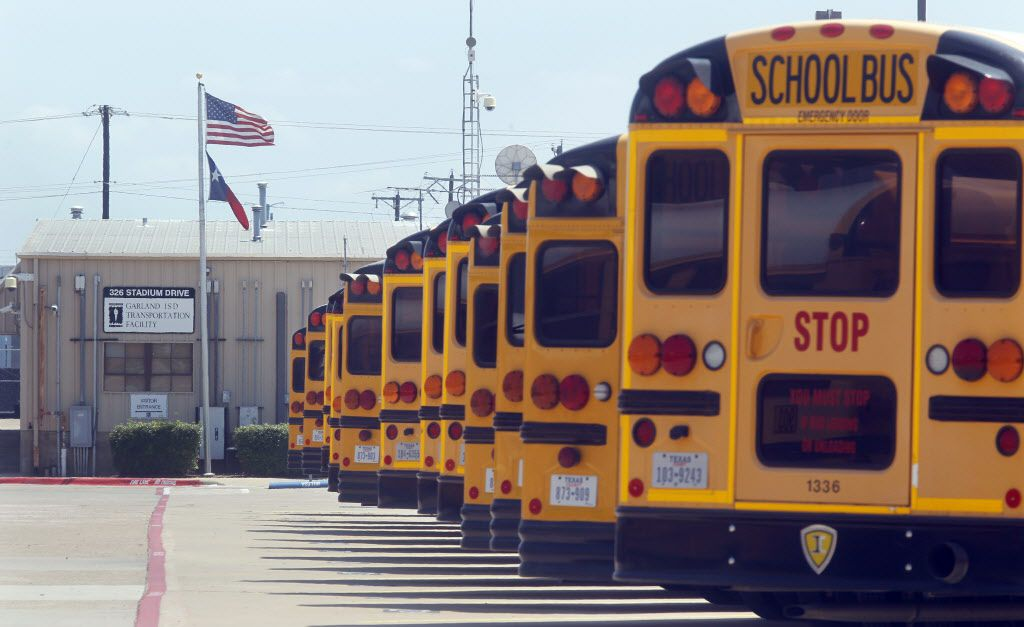Bus routes and placement of the bilingual programs far from Garland ISD's Hispanic population core have been used to achieve ethnic balance at the campuses under a 1960s federal desegregation order. (File photo)