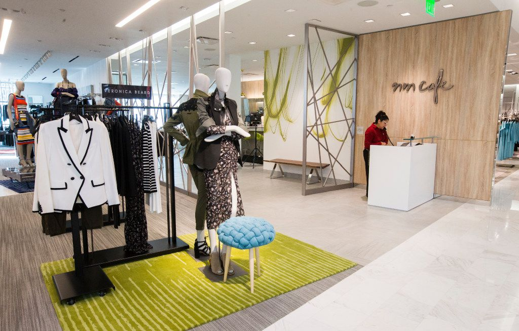 The entrance to NM Cafe, which includes a full bar, inside a new Neiman Marcus store on Wednesday, February 8, 2017 at The Shops at Clearfork in Fort Worth, Texas. (Ashley Landis/The Dallas Morning News)