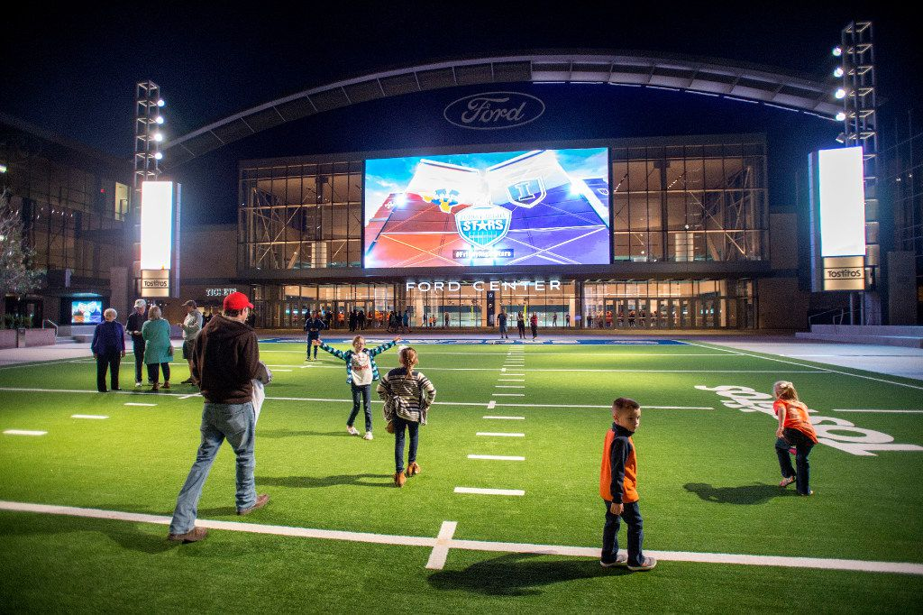 The Ford Center at The Star in Frisco will be one of the tour stops.