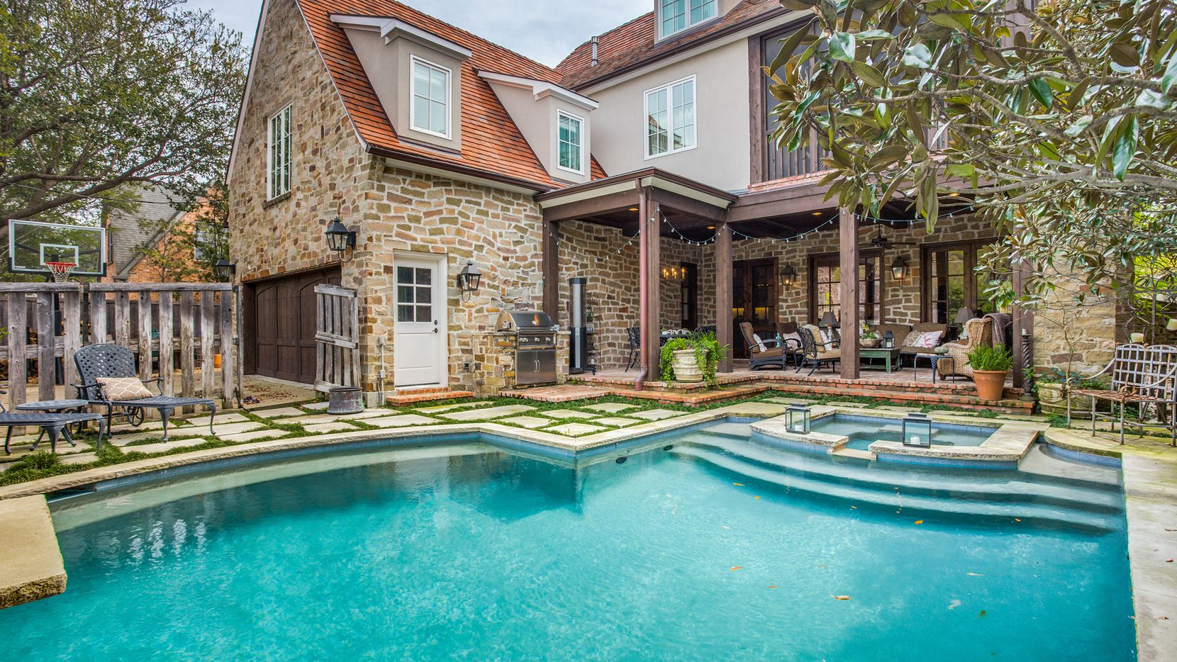 Get ready for summer gatherings around a backyard pool.
