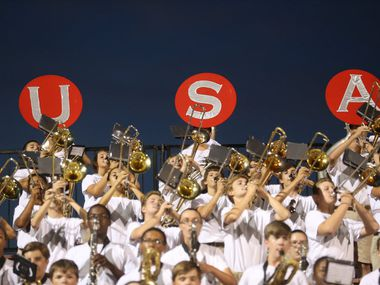 Flower Mound Marcus' band plays in this file photo. The city was recently named one of Money magazine's best places to live, with the publication citing its perfect graduation rate among the factors.
