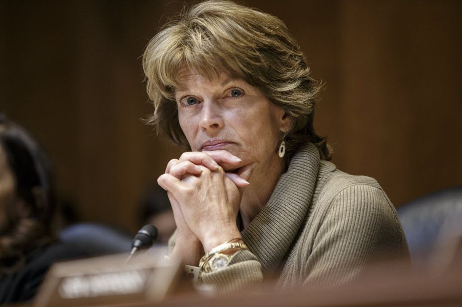 Senate Energy and Natural Resources Committee Chair Sen. Lisa Murkowski, R-Alaska listens during a markup of the long-stalled Keystone XL pipeline as she take over the chairmanship of the committee, Thursday, Jan. 8, 2015, on Capitol Hill in Washington.  (AP Photo/J. Scott Applewhite)