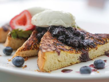LAW Restaurant's four-course a la carte Mother's Day brunch includes dishes like brioche French toast with caramelized pecan mascarpone.
