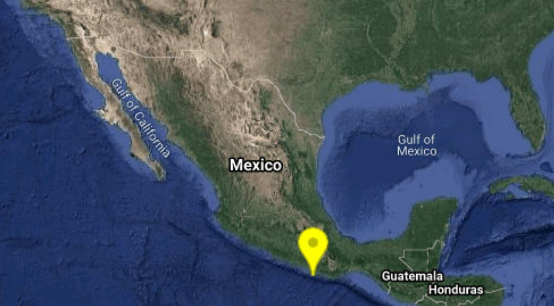 Un temblor de 4.9 grados se reportó en Oaxaca la tarde del lunes.