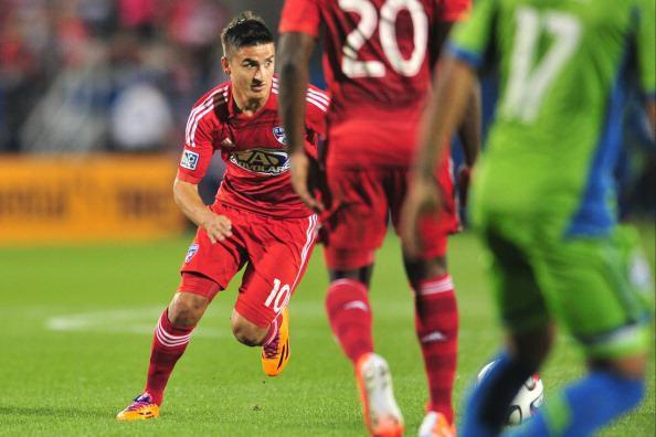 Mauro Díaz habló de Pablo Aránguiz y su trabajo en el FC Dallas. (Getty Images/Cooper Neill)