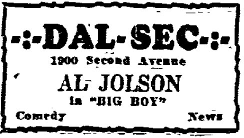 From THe Dallas Morning News, Dec. 14, 1930