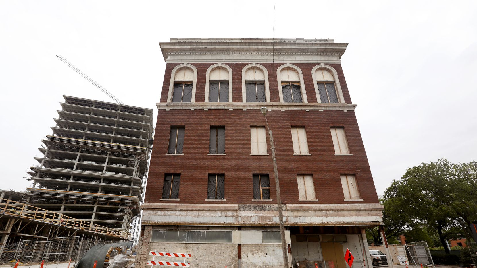 The landmark Knights of Pythias building on Elm Street will reopen in 2020 as a Kimpton Hotel.