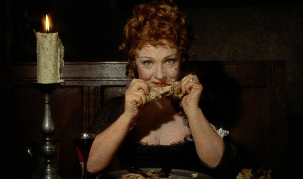 "What's for dinner? Joyce Redman in ""Tom Jones."""
