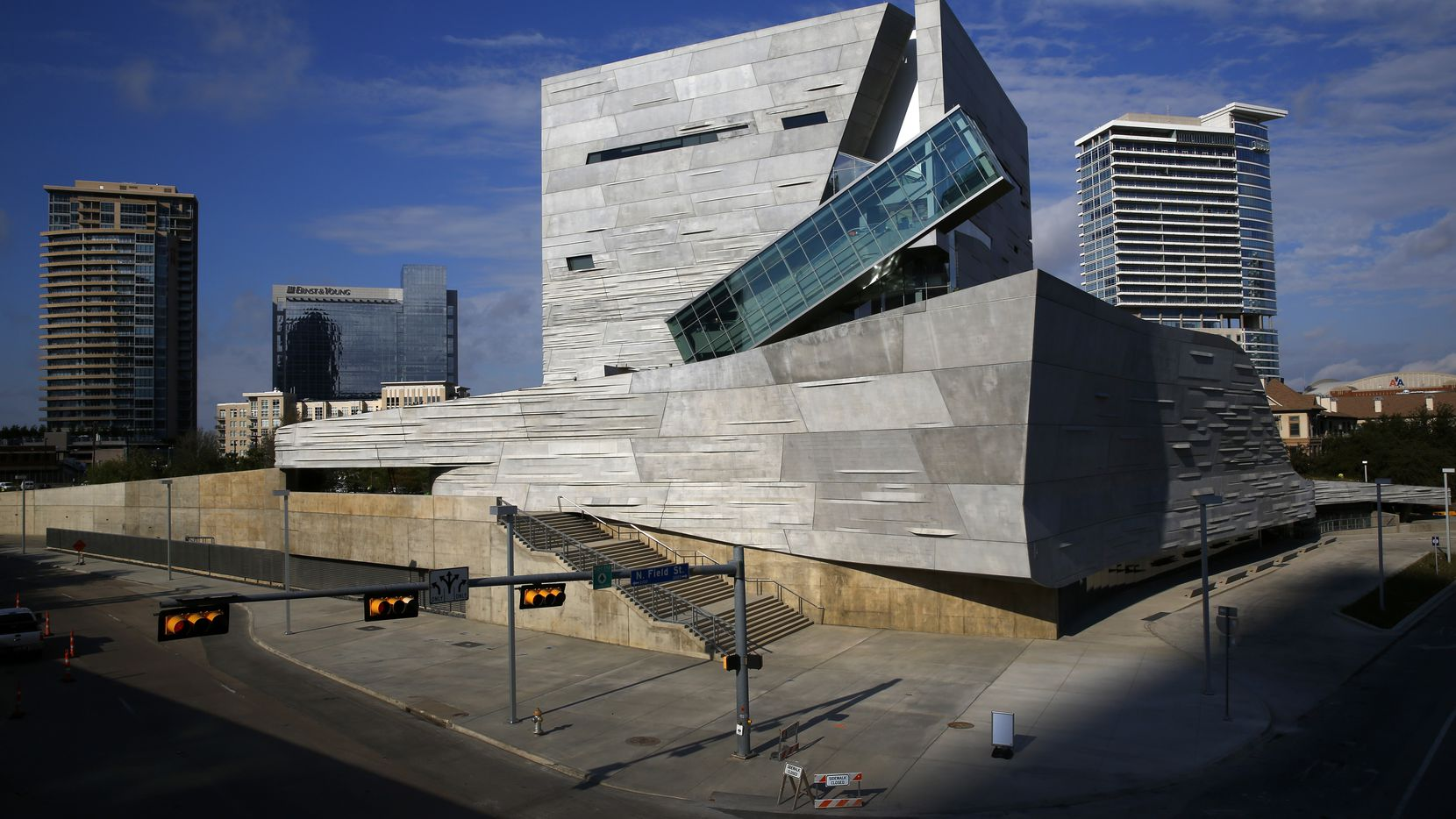 The Perot Museum of Nature and Science in downtown Dallas, Thursday, October 25, 2012.