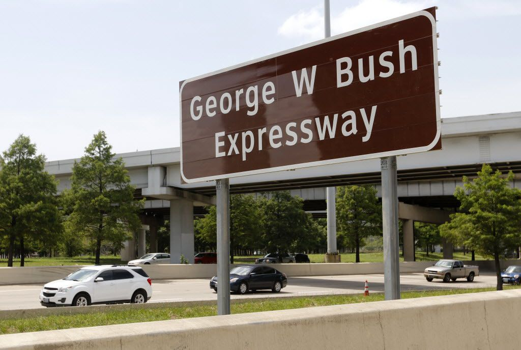George W. Bush Expressway is just a portion of North Central Expressway, near his presidential library.