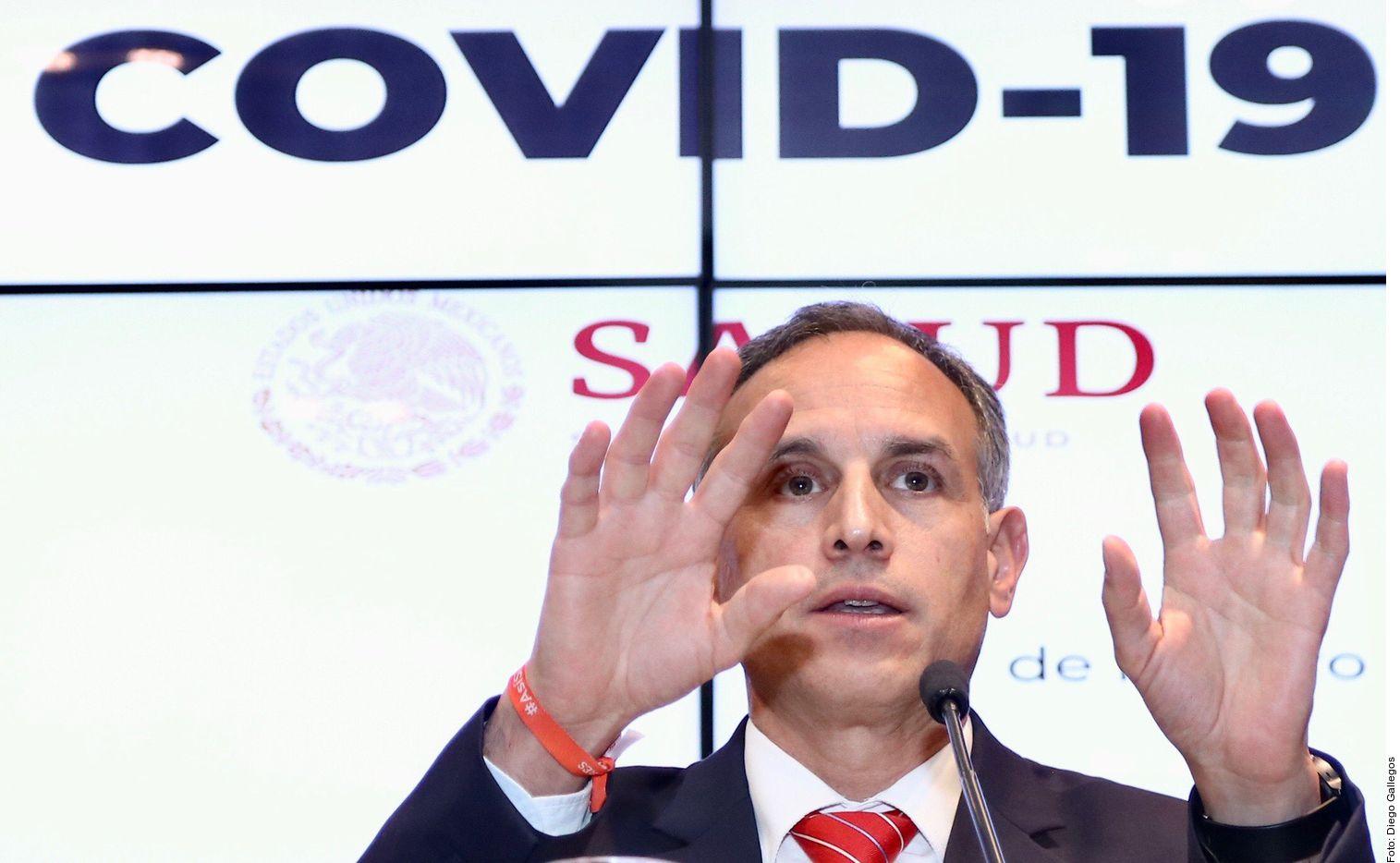 El subsecretario de Salud, Hugo López-Gatell, habló del coronavirus en México.